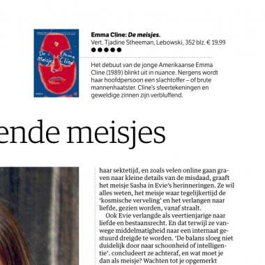 Vijfsterrenrecensie De meisjes van Emma Cline in NRC Handelsblad!