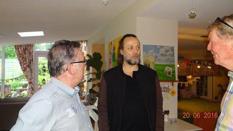 Hugo Borst op bezoek bij Herbergier Piershil - Hugo Borst