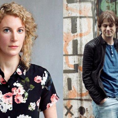 Karolien Berkvens en Jonathan Griffioen ontvangen beurs Nederlands Letterenfonds