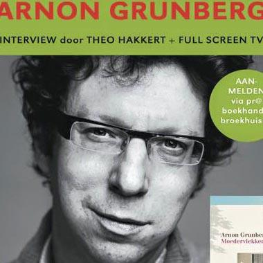 Arnon Grunberg bezoekt op 6 juli Boekhandel Broekhuis in Hengelo