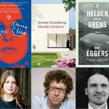 Grunberg, Eggers & Cline in Bestseller Top 60