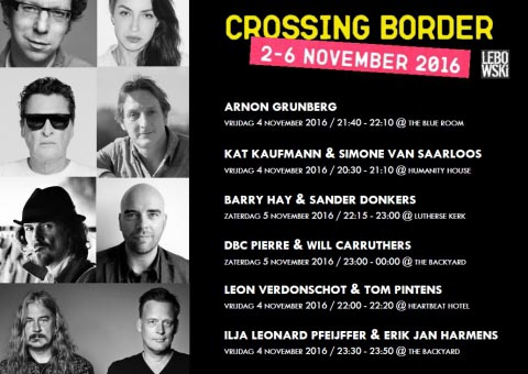 Lebowski op Crossing Border Festival - Erik Jan Harmens