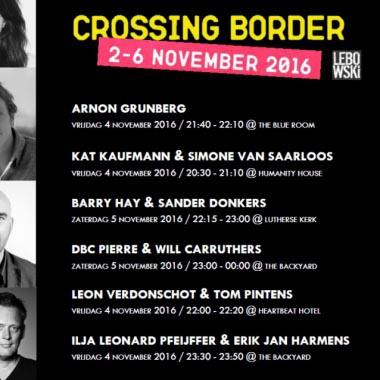 Lebowski op Crossing Border Festival  - Erik Jan Harmens