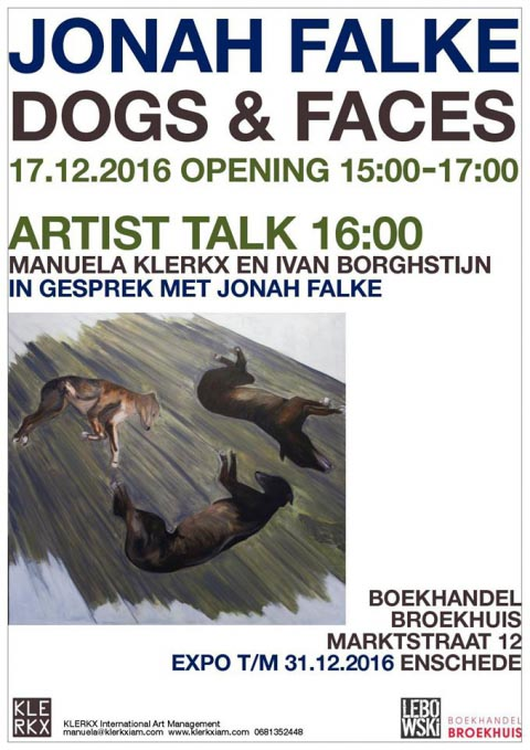 Dogs and Faces - expo Jonah Falke