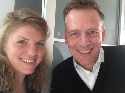 Erik Jan Harmens in gesprek met Simone van Saarloos - Erik Jan Harmens