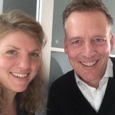 Erik Jan Harmens in gesprek met Simone van Saarloos