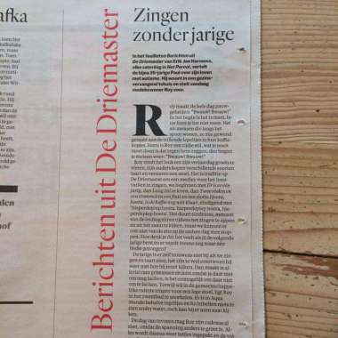 Erik Jan Harmens krijgt eigen column in Het Parool  - Erik Jan Harmens