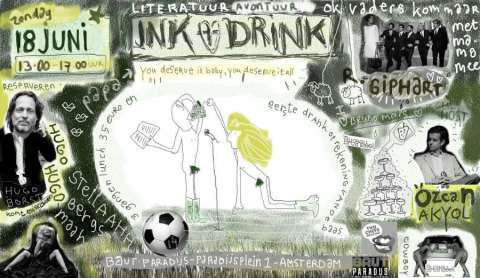18 juni (Vaderdag): INK en DRINK met Hugo Borst  - Hugo Borst