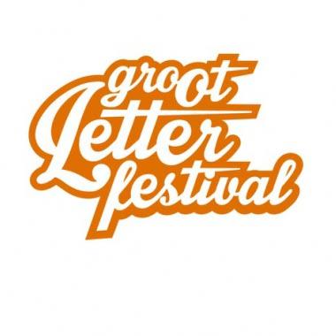 Erik Jan Harmens treedt op tijdens het Groot Letterfestival 2016  - Erik Jan Harmens