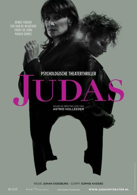 Astrid Holleeders 'Judas' gaat naar het theater