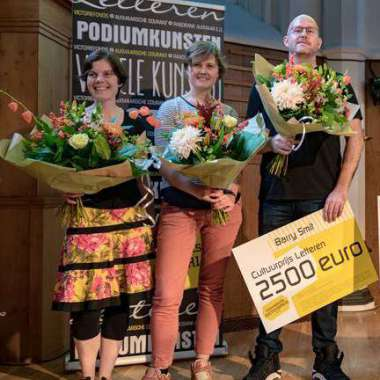 Barry Smit wint Victoriefonds Cultuurprijs 2018 in de categorie Letteren