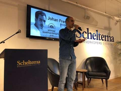 Johan Fretz wint Boekhandelsprijs 2019 met 'Onder de paramariboom'