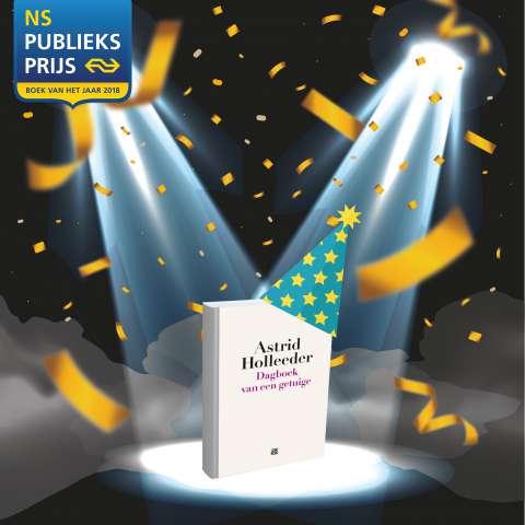 Stem op 'Dagboek van een getuige' van Astrid Holleeder voor de NS Publieksprijs (en win)