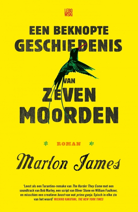 Marlon James op shortlist Man Booker Prize 2015
