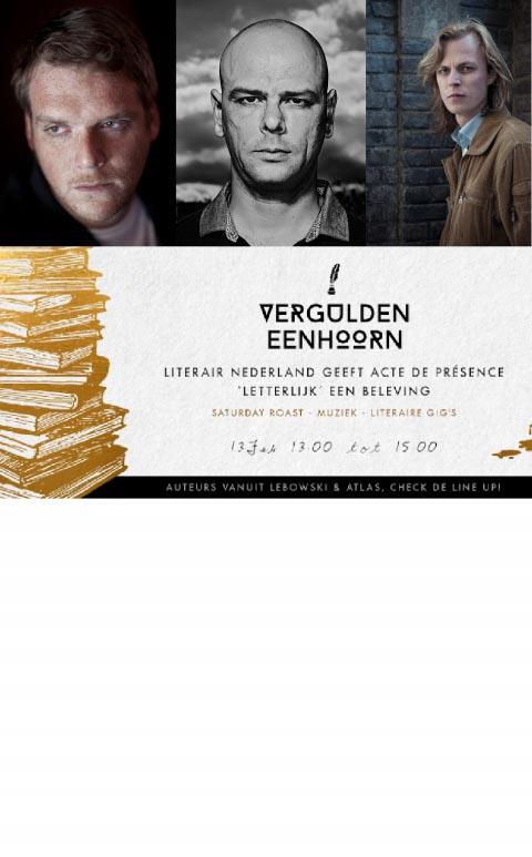 Saturday Roast met Willem Bosch, Cor de Jong en Jonah Falke tijdens 24H Oost - 13 februari in Amsterdam  - Jonah Falke