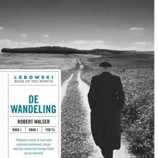 De wandeling van Robert Walser uitgeroepen tot een van de Best Verzorgde Boeken van 2015