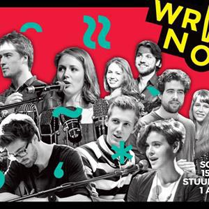 Doe mee met schrijfwedstrijd Write Now! 2016