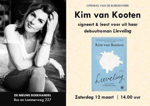 Kim van Kooten luidt de Boekenweek in