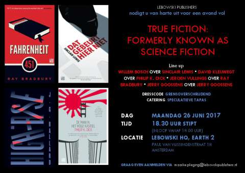 26 juni: True Fiction Night