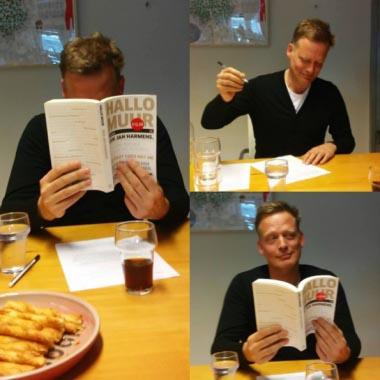 Erik Jan Harmens tekent voor nieuwe roman  - Erik Jan Harmens