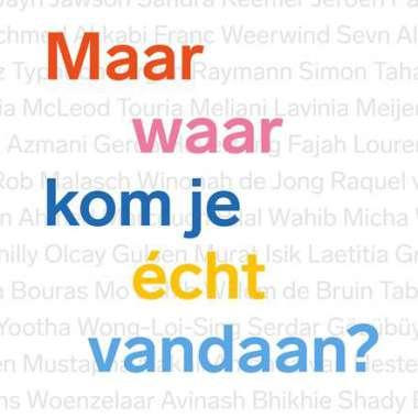 30 juli verschijnt 'Maar waar kom je écht vandaan?' van Robert Vuijsje