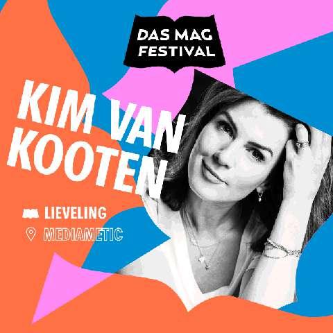 Leesclub Kim van Kooten op Das Mag Festival