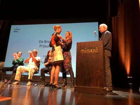 Annemarie Haverkamp wint de Bronzen Uil 2019!