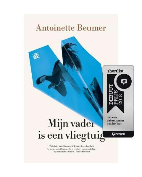 Antoinette Beumer op shortlist Hebban Debuutprijs 2018