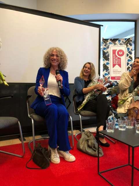 Antoinette Beumer wint Hebban Debuutprijs 2018