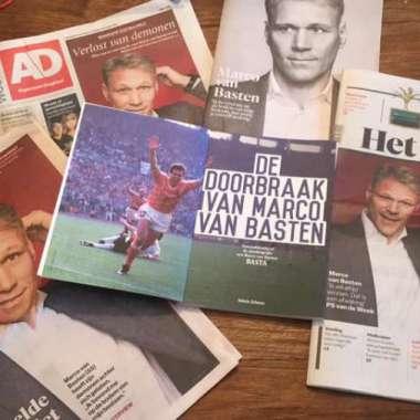Autobiografie BASTA van Marco van Basten wordt internationale dramaserie
