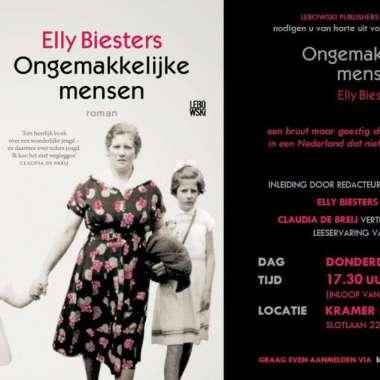 Boekpresentatie Elly Biesters
