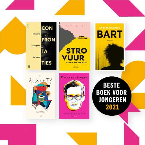 'Confrontaties' op de shortlist van Het Beste Boek voor Jongeren