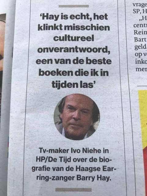 De grootste fan van HAY: Ivo Niehe