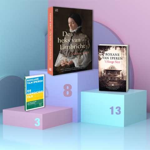 De heks van Limbricht komt binnen op 8 in de Bestseller60