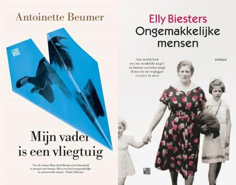 Elly Biesters en Antoinette Beumer genomineerd voor Hebban Debuutprijs