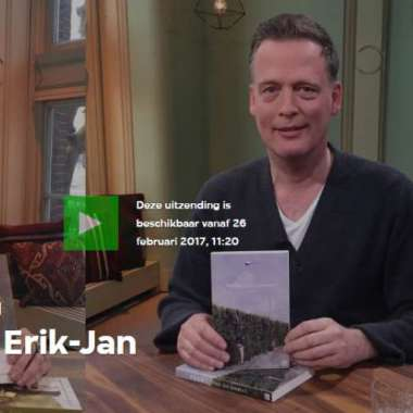 Erik Jan Harmens te gast bij VPRO Boeken  - Erik Jan Harmens