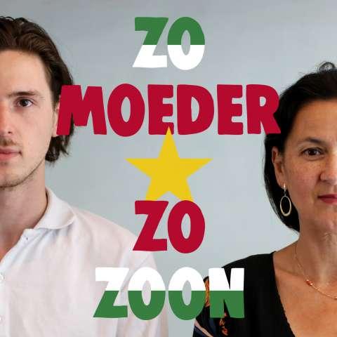 Luister Zo moeder zo zoon, een vijfdelige podcast van Gotu Jim en Bodil de la Parra over afkomst, kleur, kunst en Suriname