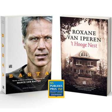 Genomineerd voor de NS Publieksprijs 2020: BASTA, de autobiografie van Marco van Basten, en 't Hooge Nest van Roxane van Iperen