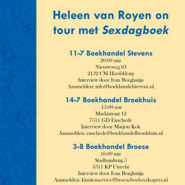 Heleen van Royen on tour met