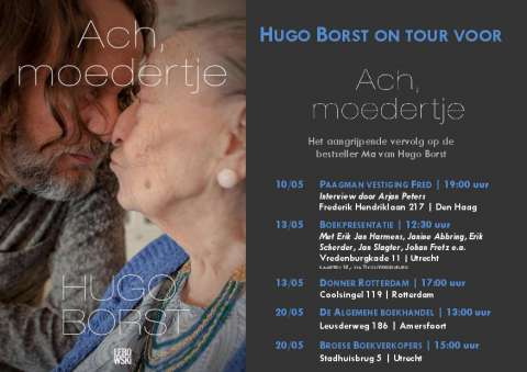 Hugo Borst on tour voor 'Ach. moedertje' - Hugo Borst