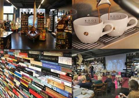 Interview in Boekhandel Van der Meer in Noordwijk