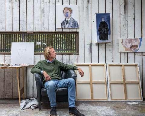 Jonah Falke exposeert met 'Heimat' in het Van GoghHuis te Zundert - Jonah Falke