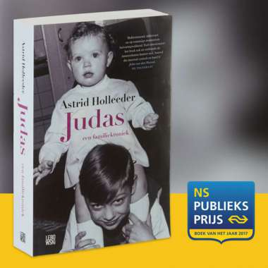Judas by Astrid Holleeder shortlisted for Book of the Year Award 2017