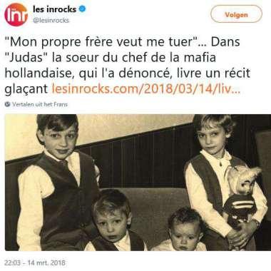 Judas verschenen in Frankrijk (en groot in de pers aldaar)