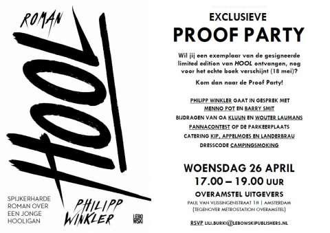 Kom naar de Proof Party van Hool