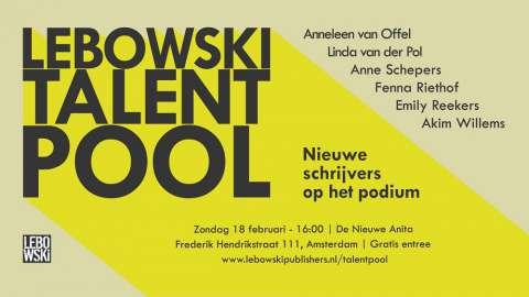 Lebowski begint ontwikkelingstraject voor nieuwe schrijvers: de Talent Pool
