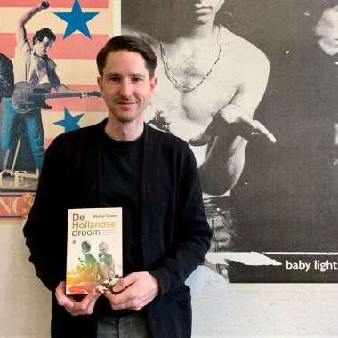 Martijn Simons met De Hollandse droom genomineerd voor de BNG Literatuurprijs 2020
