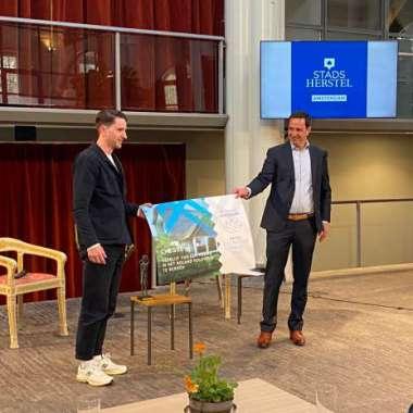 Martijn Simons wint BNG Bank Lezersjuryprijs