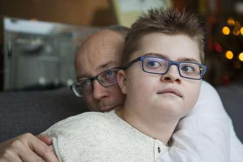 'Samuel is een soort Justin Bieber van de gehandicapten'
