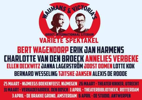 Waumans & Victoria on tour - Erik Jan Harmens